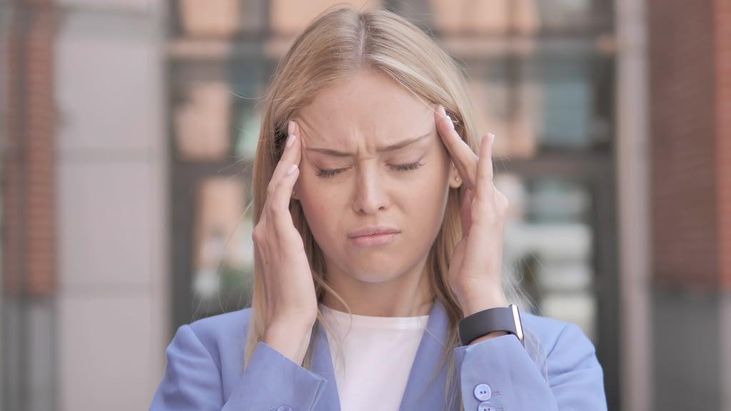 Trastorno de la ATM: dolores de cabeza